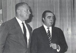 Cap. Waldir O'Dwyer e Aquino Porto